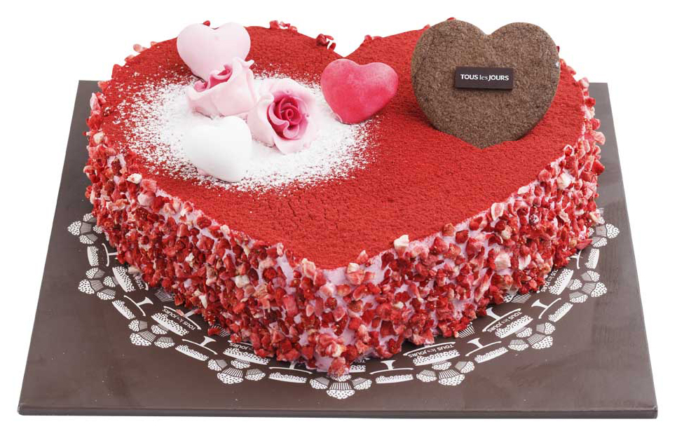Cakes Tous Les Jours Butter Cream Cake Kiss Strawberry