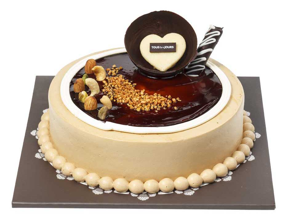 Send MOCHA CAKE By Tous Les Jours To Philippines
