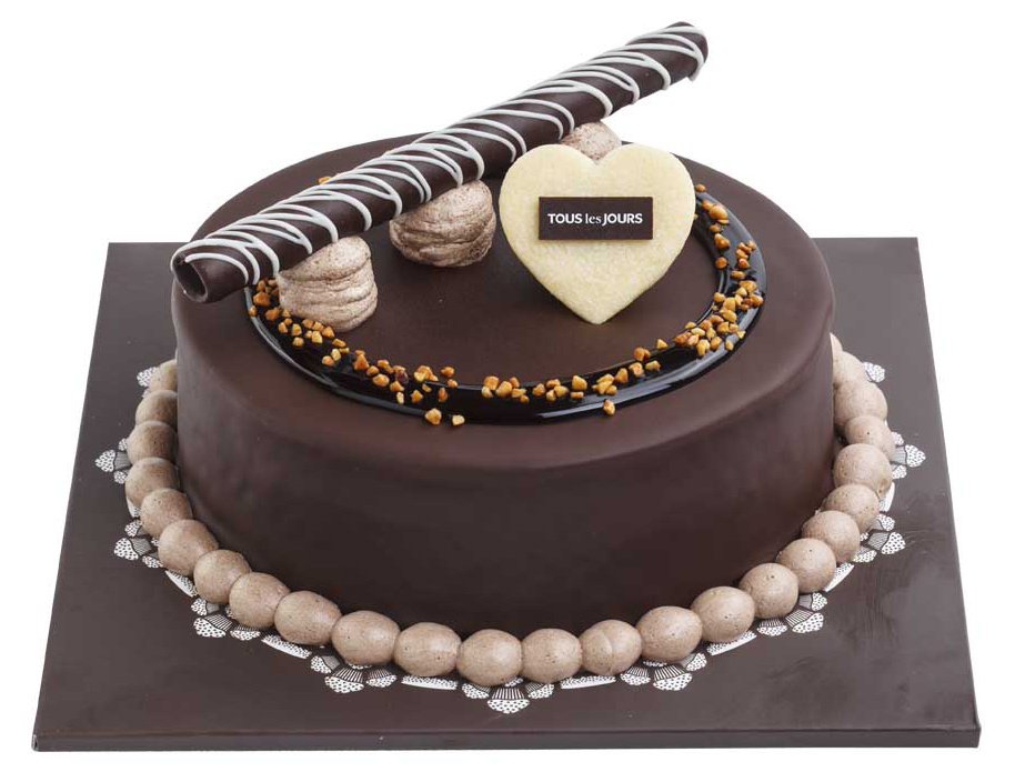Send RICH CHOCOLATE CAKE By Tous Les Jours To Philippines