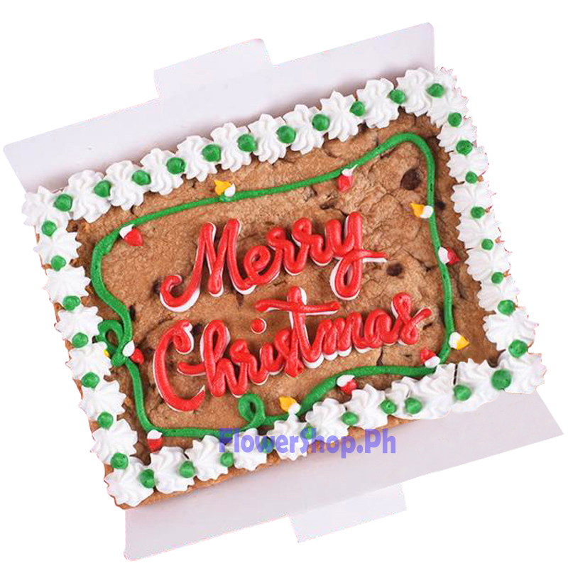 Christmas Cookie Square Cake By Mrs Fields