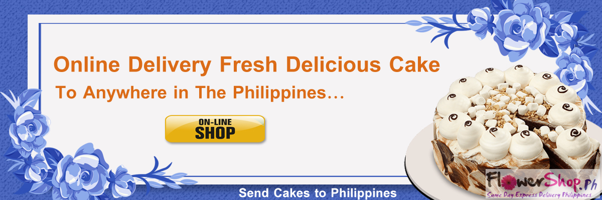 send delicious cakes to philippines