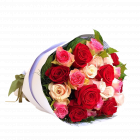 send mixed color roses to philippines