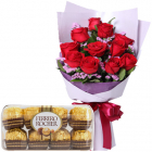 flowers with chocolate to philippines