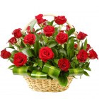 roses basket to philippines