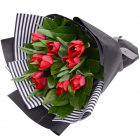tulips vase,bouquet online to philippines