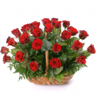 Send Roses Basket to Manila Only