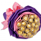 Send Ferrero Chocolate Bouquet to Manila Only