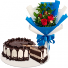 send birthday flower with cakes to manila