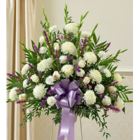 Send Purple and White Delight Basket to Philippines