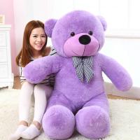 5 Feet Purple Jumbo Teddy Bear
