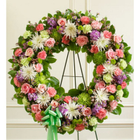 Send Picturesque Greens Wreath to Phillipines