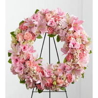 Send Roseate Wreath to Phillipines