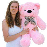 3 Feet Pink Color Giant Bear