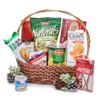 send holiday grocery gift basket - 01 to manila philippines