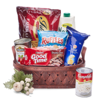 send goliday grocery gift basket - 02 to manila philippines