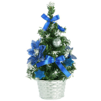 send 45cm blue small table top christmas tree to manila philippines