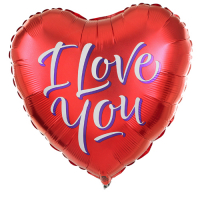 1pcs I Love You Mylar Balloon