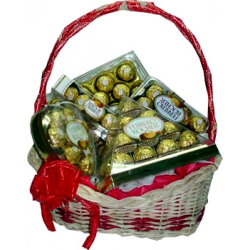 ferrero lover basket send to philippines