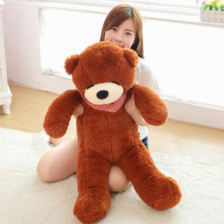 3 Feet Dark Brown Color Giant Bear
