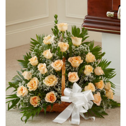 Send Pretty and Peachy Arrangement to the Phillipines