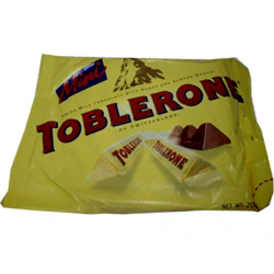 Mini Toblerone Chocolate - 200g Send to philippines