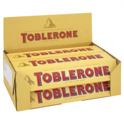 12 packs of Toblerone chocolates. Each 50g X 12 Send to Philippines