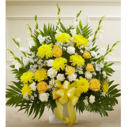 Send Blazing Basket of Yellow to Phillipines