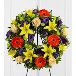 Send Joyous Life Wreath to Philliines