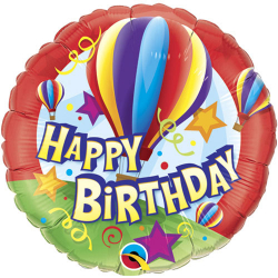 1 pcs Birthday Mylar Balloon
