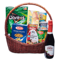 send holiday grocery gift basket - 03 to manila philippines