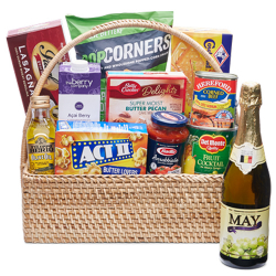 send holiday grocery gift basket - 04 to manila philippines