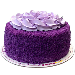 send ube cake by caramia cake & gelato to manila