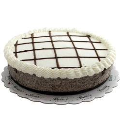send cookies and cream cheese cake by contis to manila