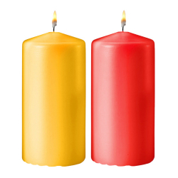 send 2pcs. colorful medium size candles to philippines