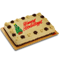 send holiday mocha dedication cake by red ribbon to philippines