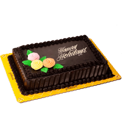 send choco chiffon holiday cake by goldilocks to philippines