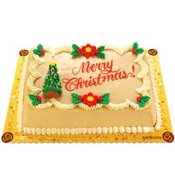 send christmas greeting cake by goldilocks to manila philippines