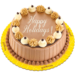 send christmas triple delight cake by goldilocks to philippines