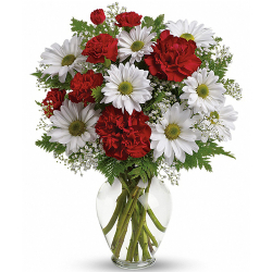 send xmas arrangement of mixed flower to manila philippines
