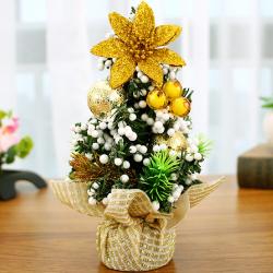 send 20cm gold mini christmas tree to manila philippines