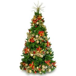 send 4 feet decorated christmas tree to manila philippines