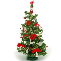 send 4 feet christmas tree with decoration to manila philippines