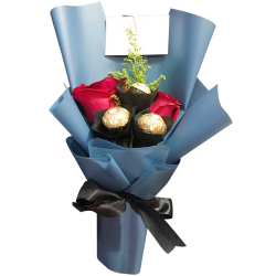 send ecuadorian roses with ferrero in bouquet to philippines