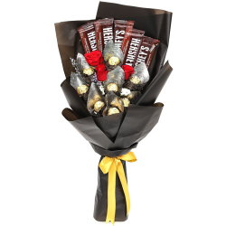 send chocolate and fresh flower bouquet to philippines