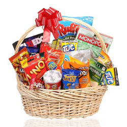 send halloween sports snacks basket to philippines