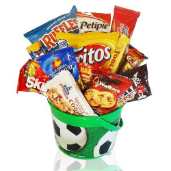 send celebration fun snack basket to philippines