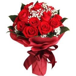 send a dozen of ecuadorian roses bouquet to philippines
