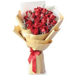 send 2 dozen red ecuadorian roses bouquet to philippines