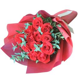 send eternal love (1 dozen ecuadorian roses) to philippines