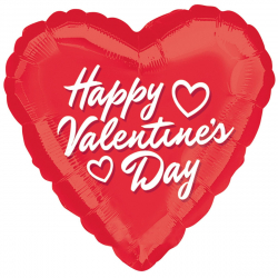 1pcs Valentine's Day Mylar Balloon